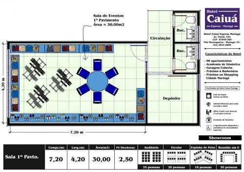 Layout Sala 1º Show Room