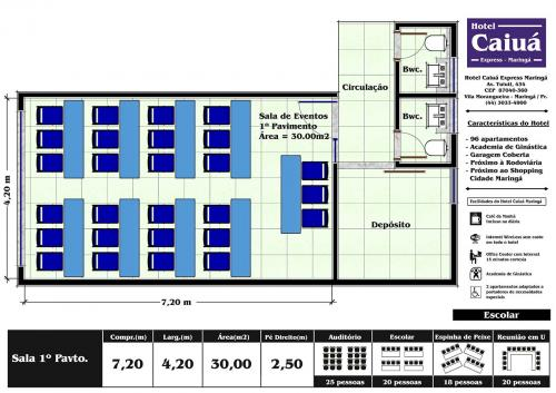 Layout Sala 1º Escolar